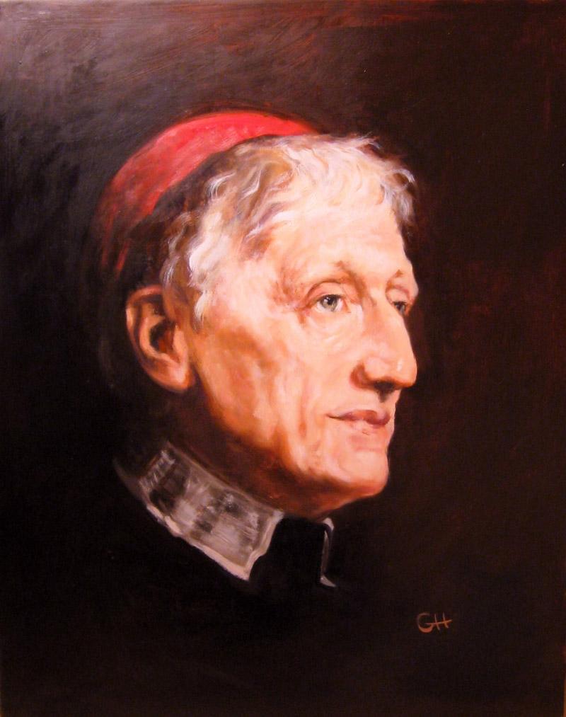 Walter Ouless' John Henry Cardinal Newman