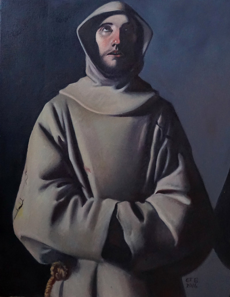 Francisco de Zurbarán - St. Francis of Assisi